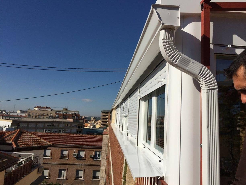 Cerramientos de terrazas en Madrid sur