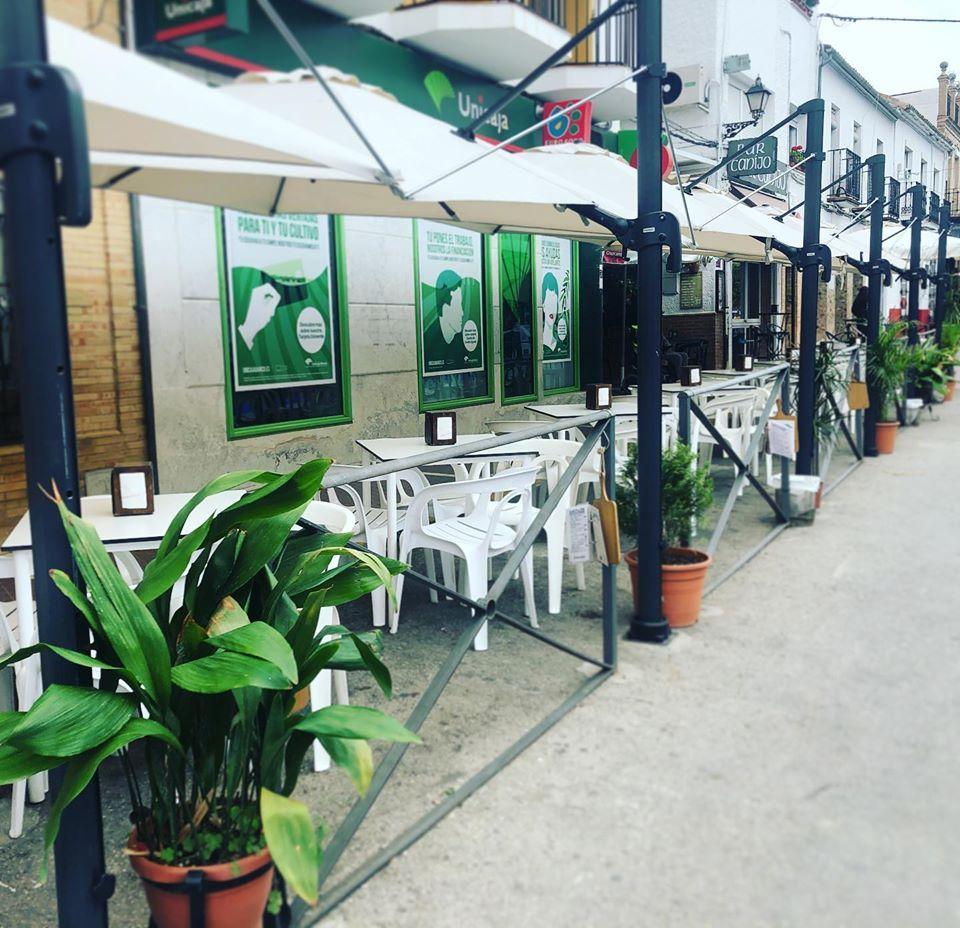 Terraza de bar