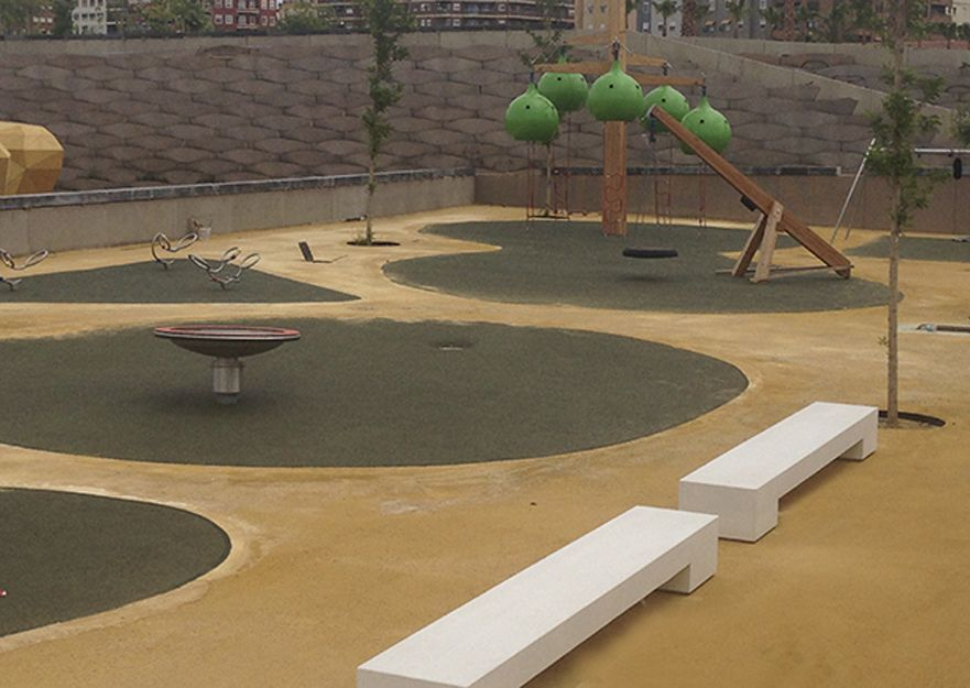 Instalación de suelos para parques infantiles en Quart de Poblet