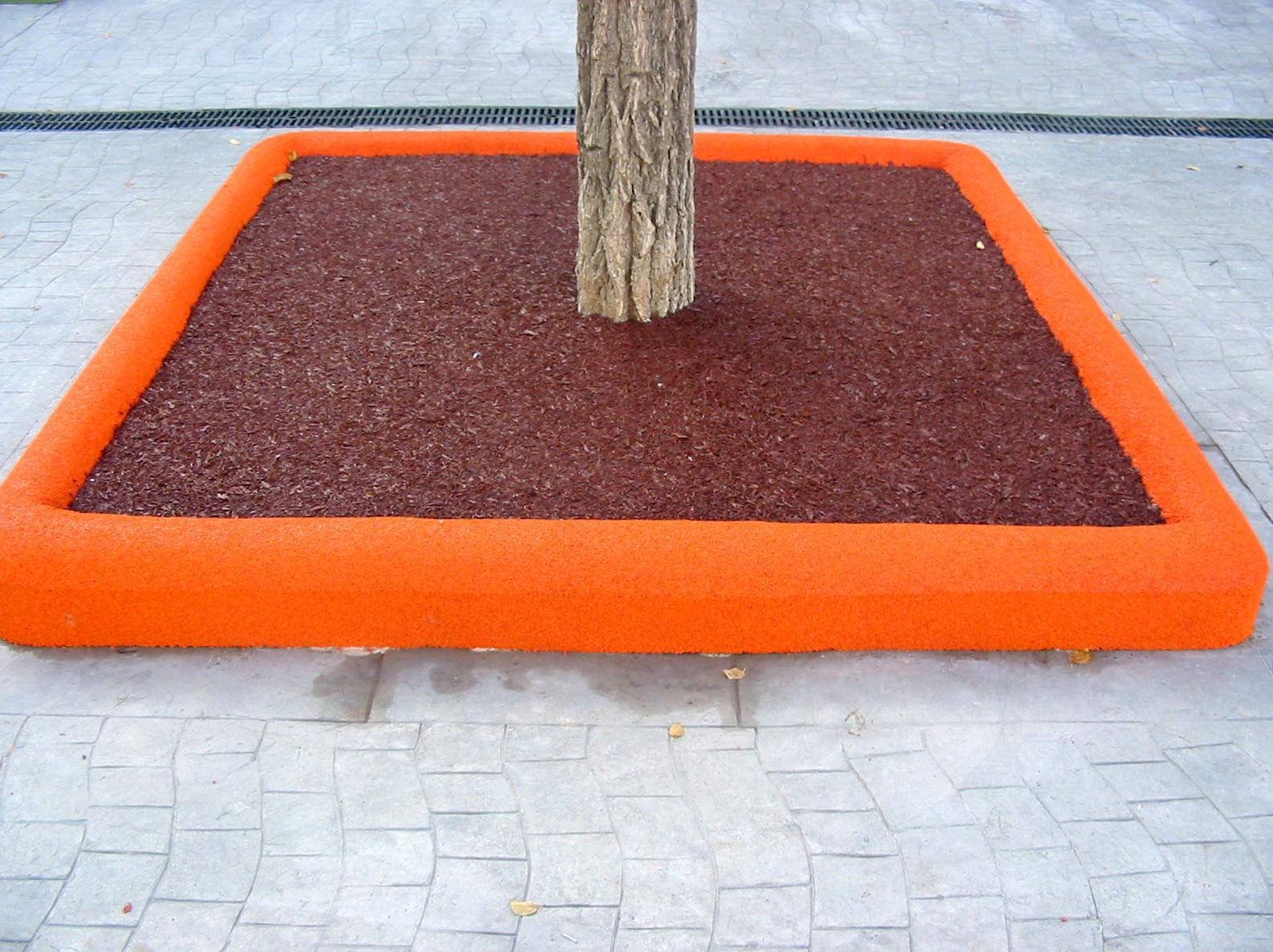 Pavimento de caucho