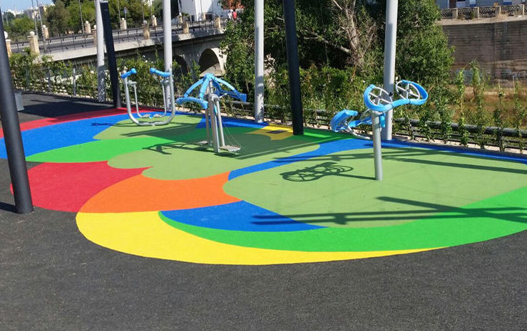 Foto 17 de Pavimentos para parques infantiles en Quart de Poblet | Pavimentos de Caucho