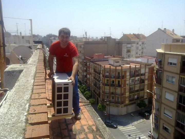 Mantenimiento de aire acondicionado en Valencia