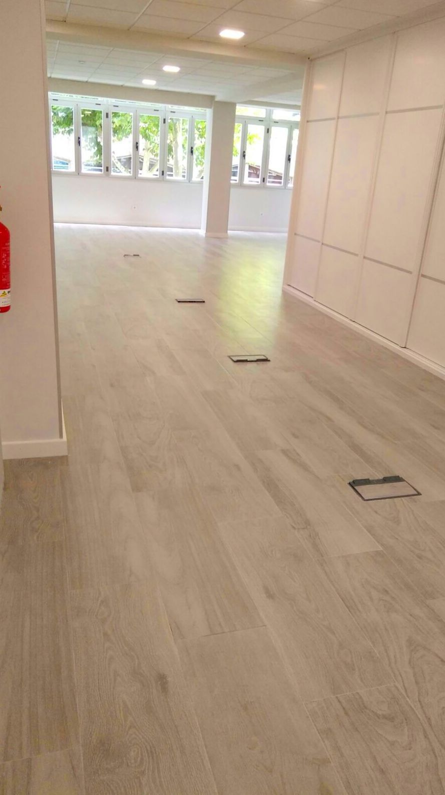 Obras en oficinas y locales comerciales