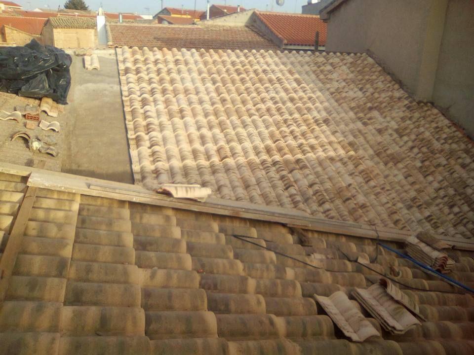 Cubiertas: Trabajos de Reformas y Construcciones Cabrera