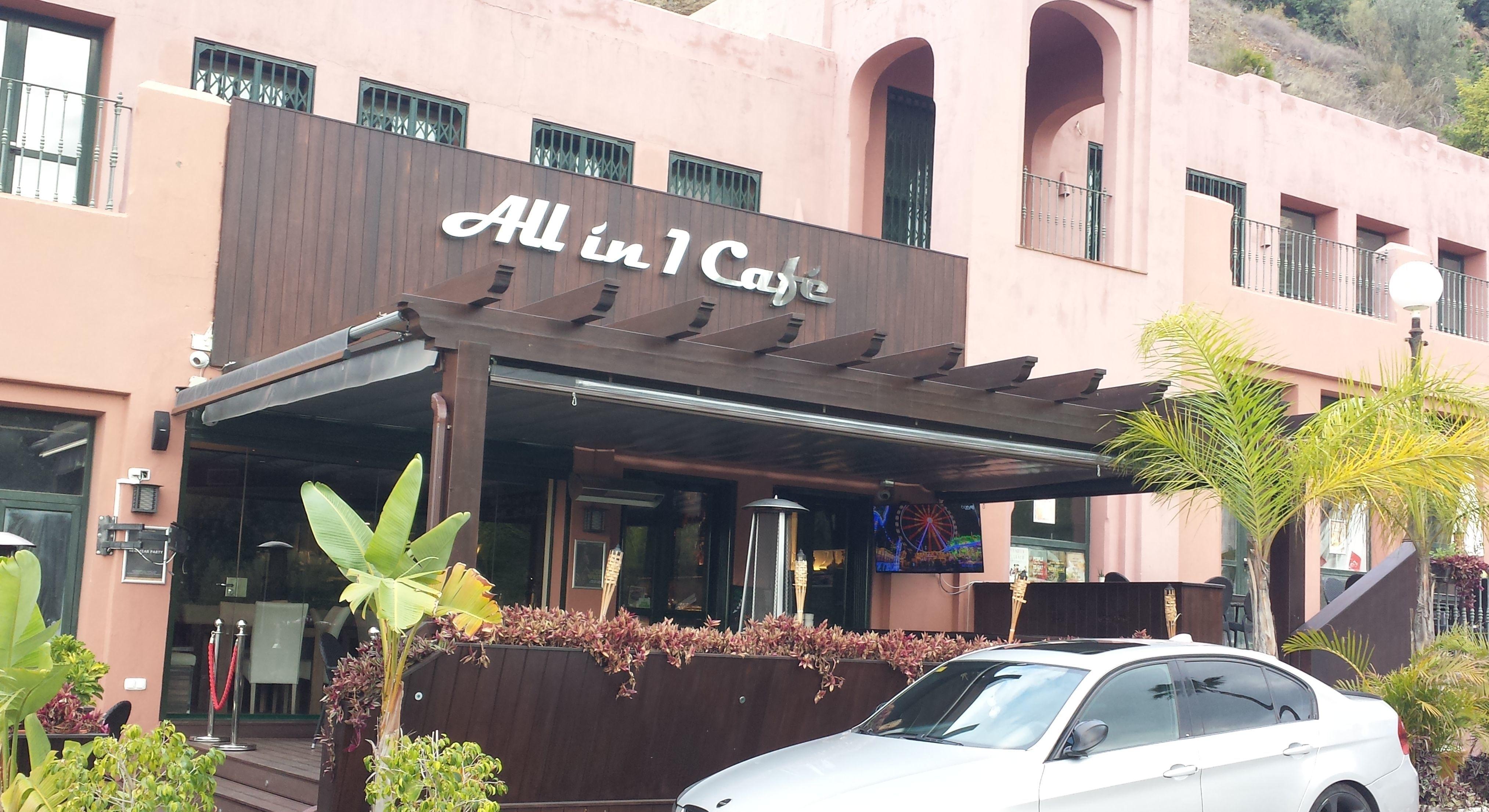 Un café siempre mejor a la sombra all in 1 café