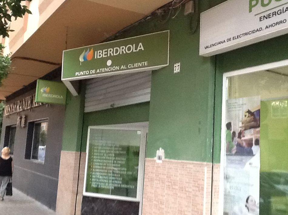 Comercializadoras de electricidad en Valencia con atención al cliente de Iberdrola