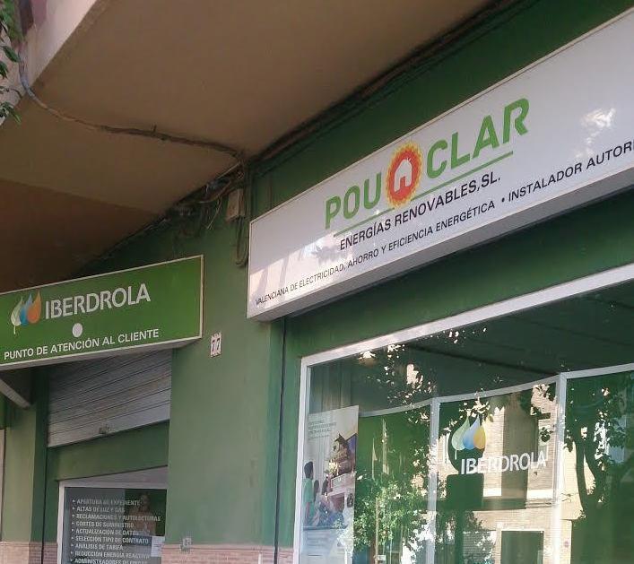 Punto de atención al cliente Iberdrola: Servicios de Energías Renovables Pou Clar S.L.