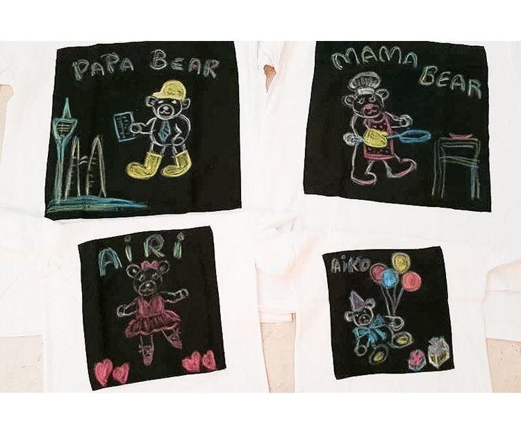 Camisetas para cada miembro de la familia
