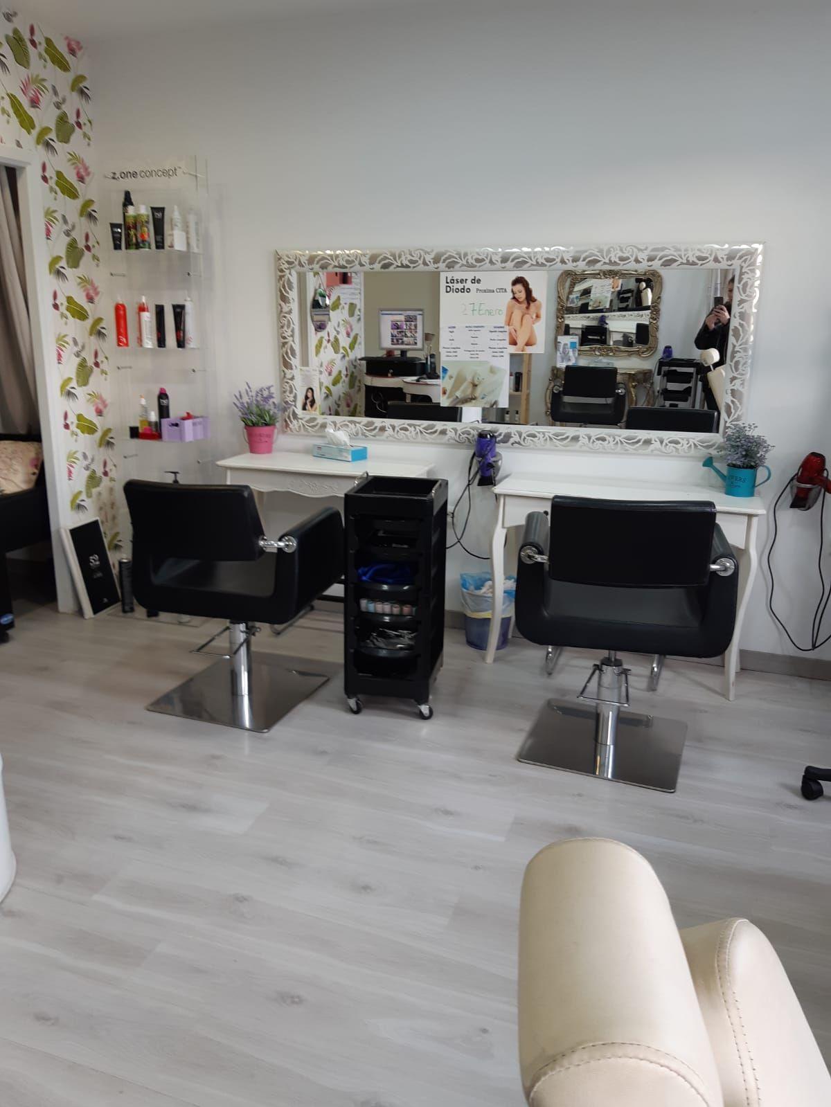 Instalaciones de la peluquería