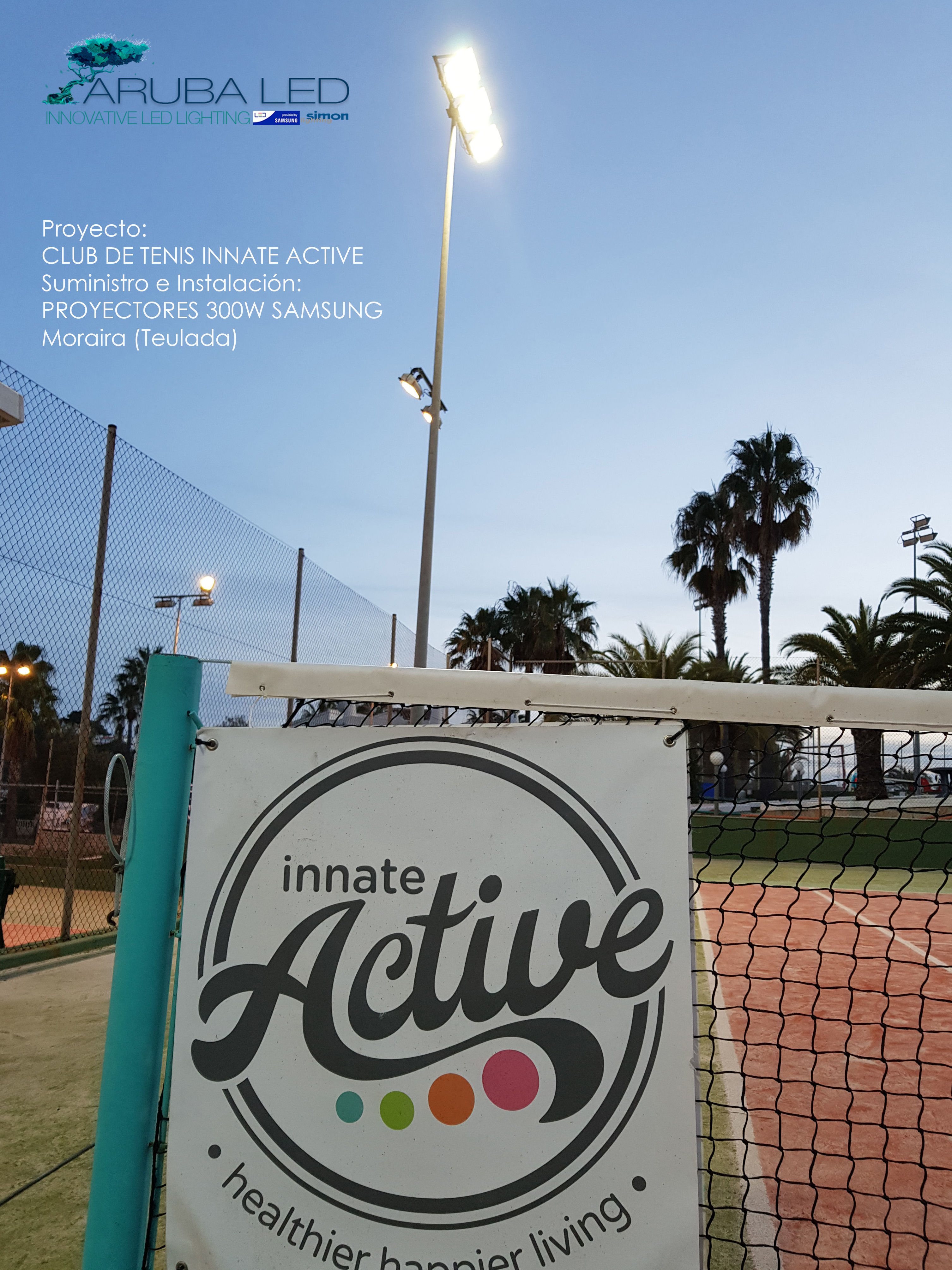 Iluminacion CLUB INNATE ACTIVE