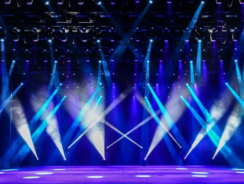 Iluminación led en conciertos