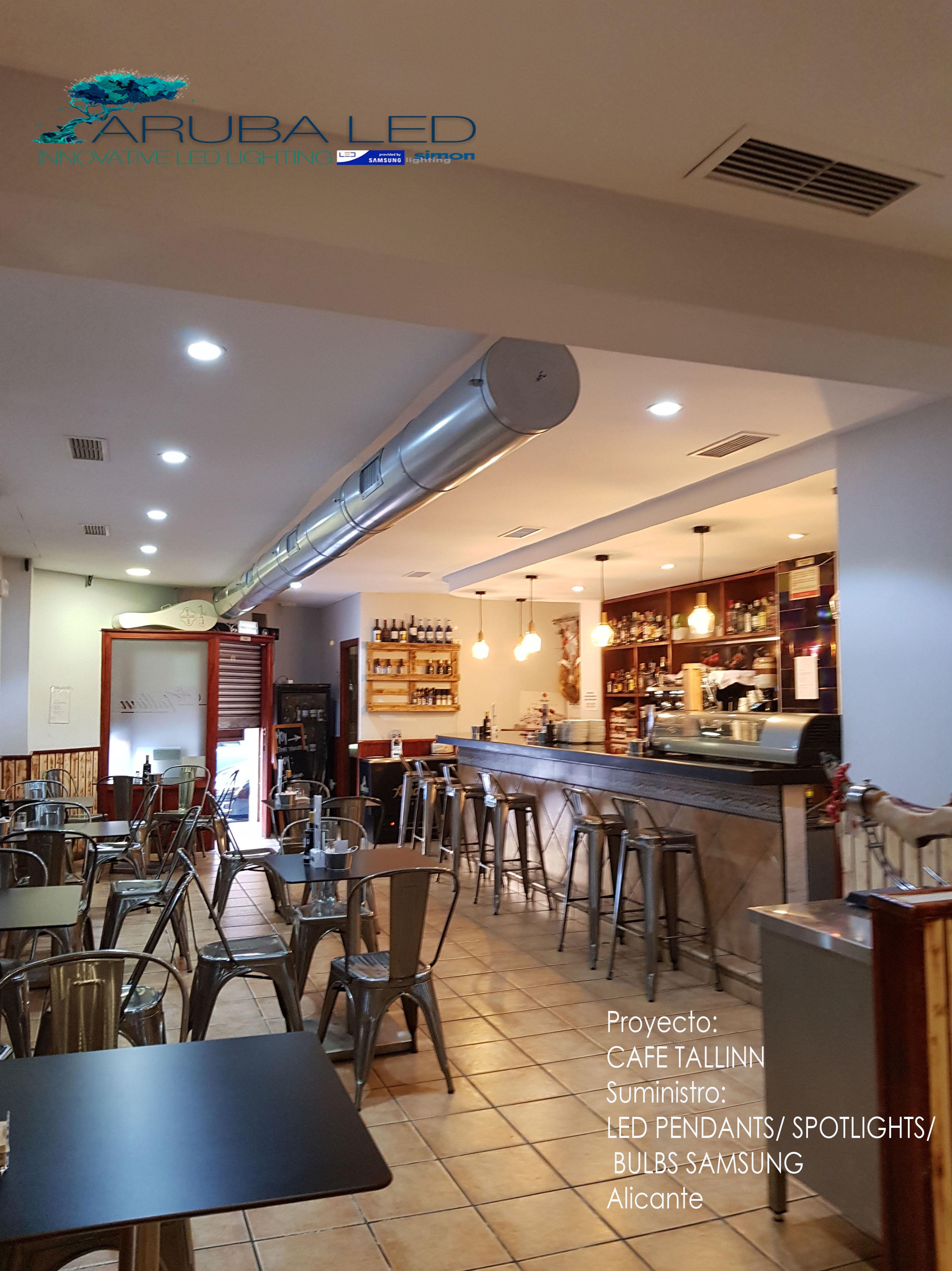 Iluminacion CAFE TALLINN