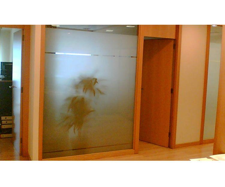 Paneles de madera para oficinas