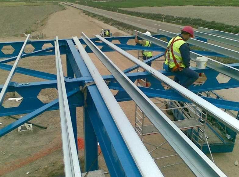 Instalación de construcciones metálicas