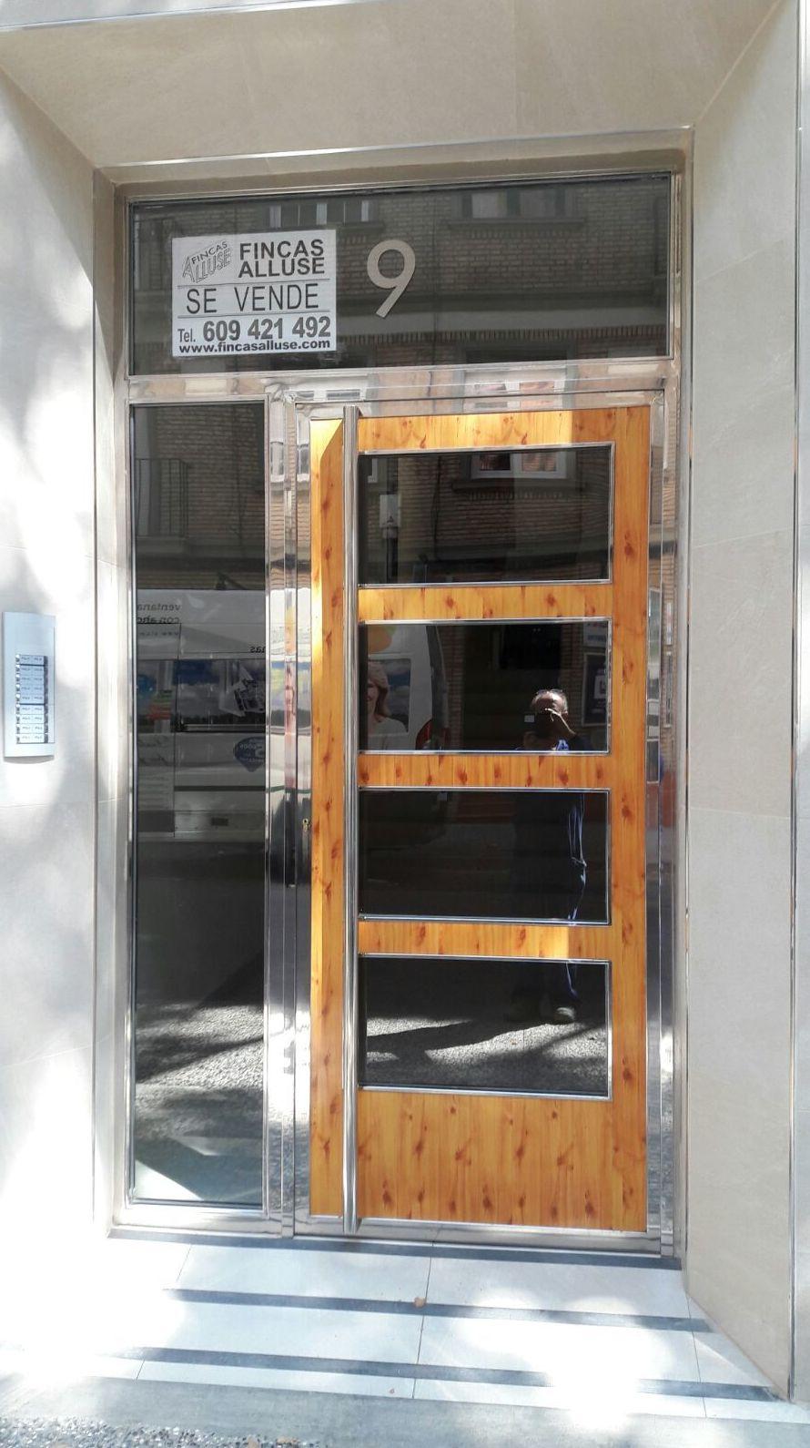 Puertas de hierro y aluminio