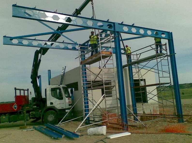 Instalaciones de estructuras metálicas