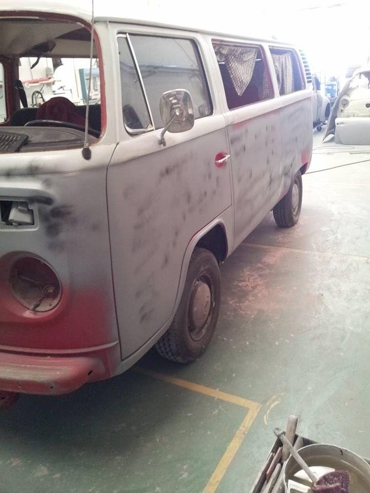 Restauración de furgoneta westfalia