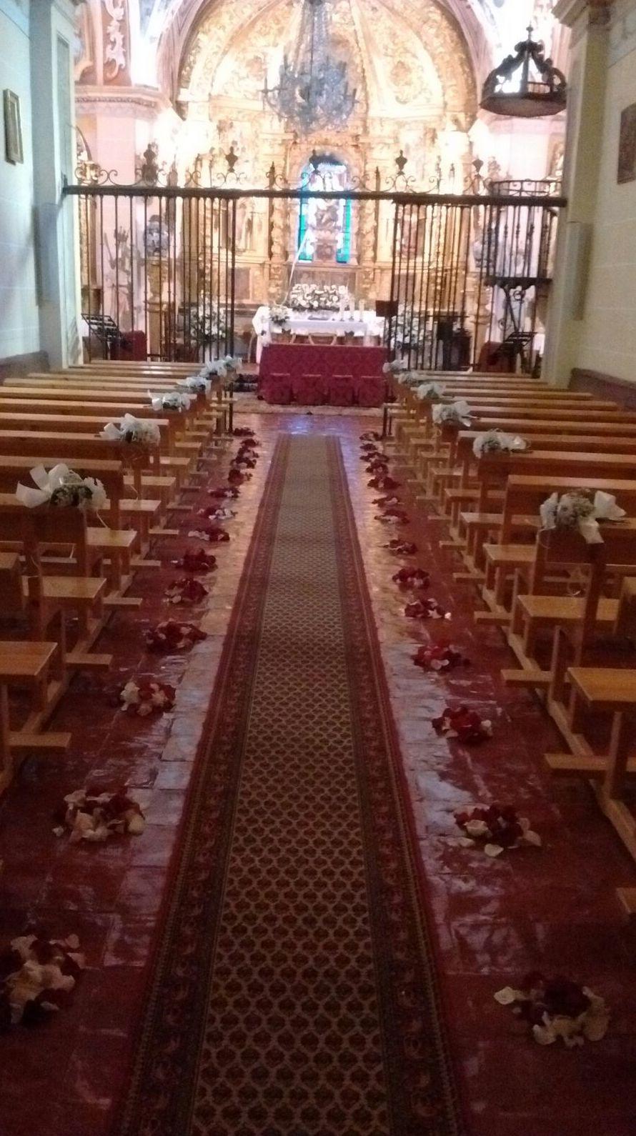 Decoración floras para bodas