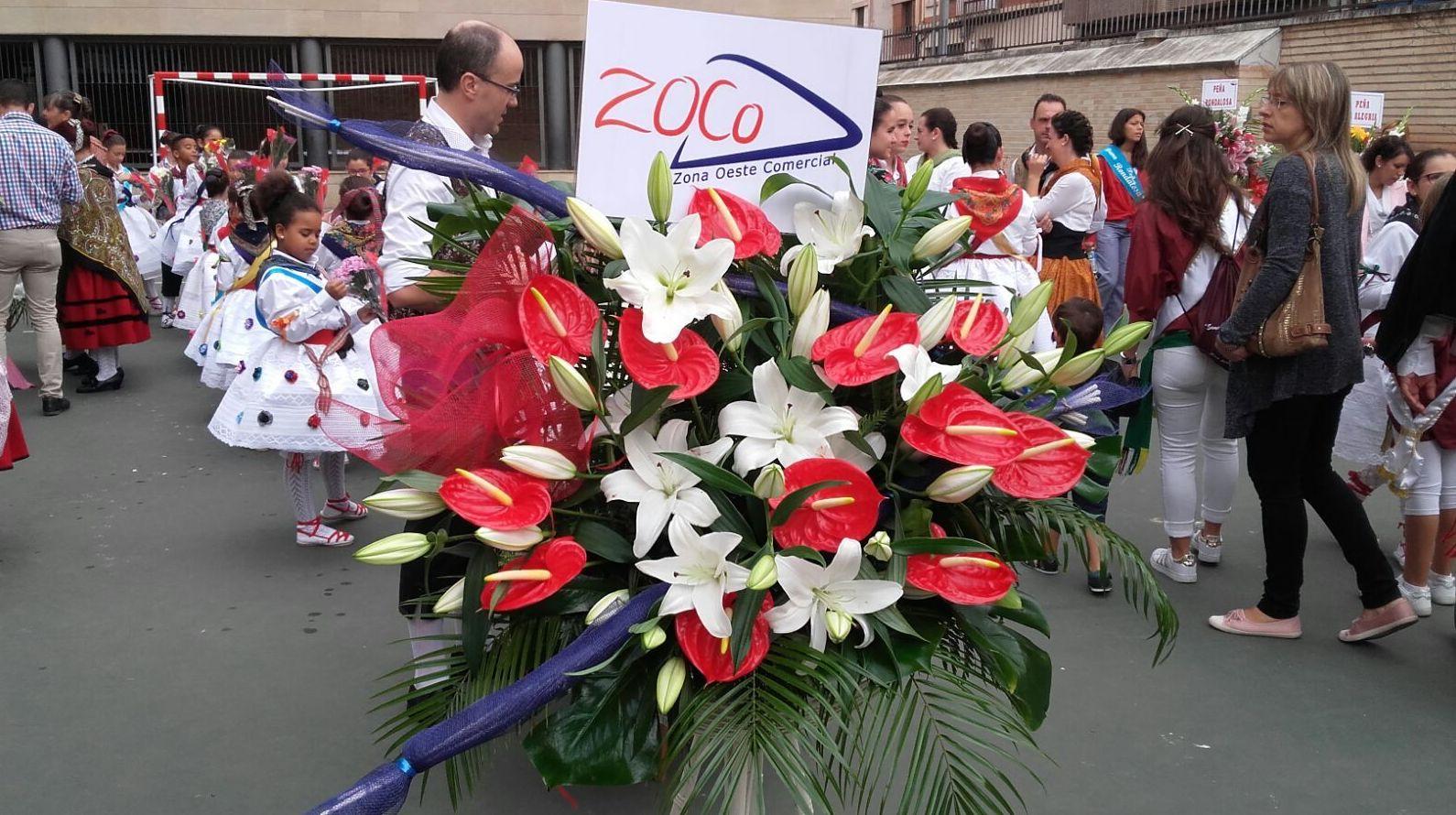 Ofrenda floral , fiestas de San Mateo 2016