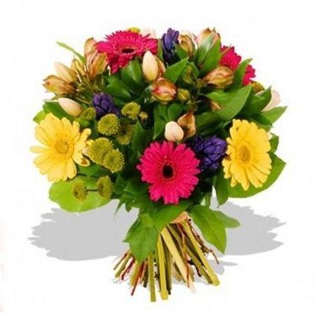 Bouquet variado de flores