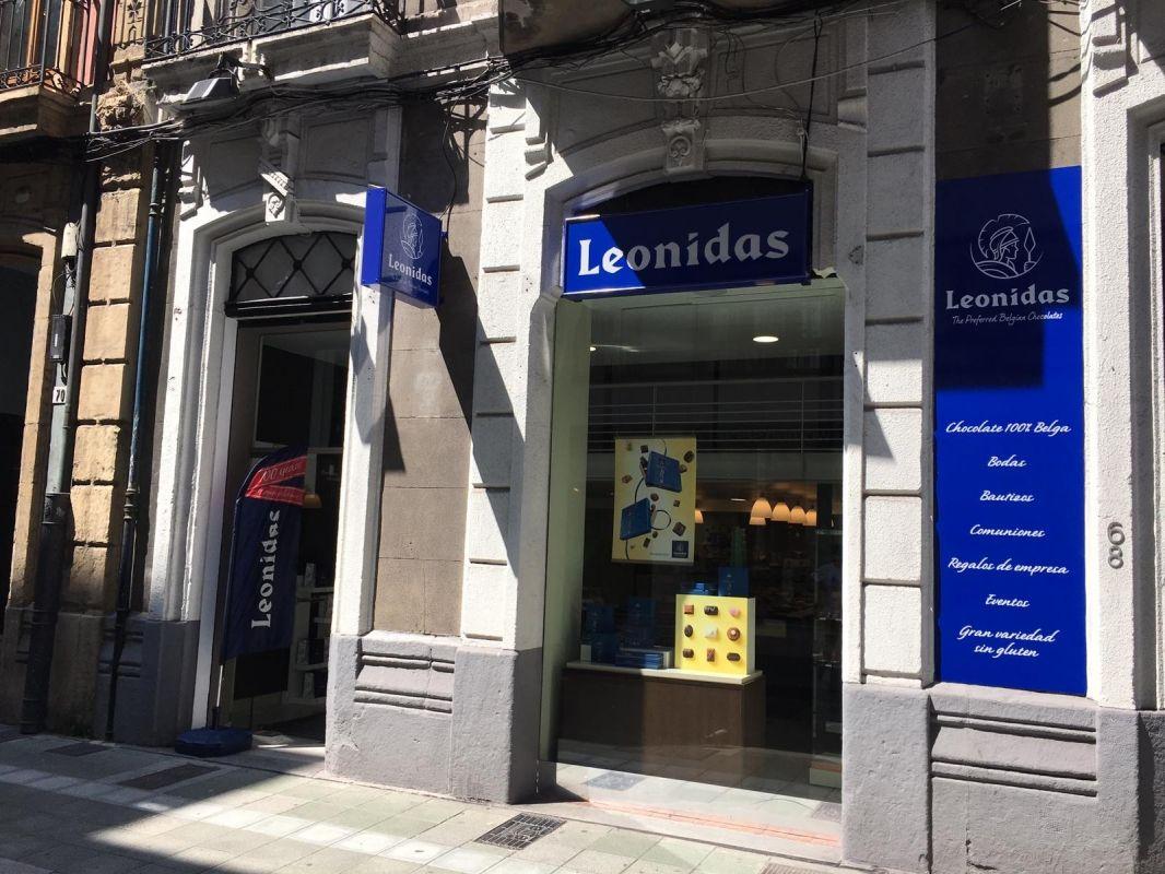 Bombonería Leonidas en Gijón