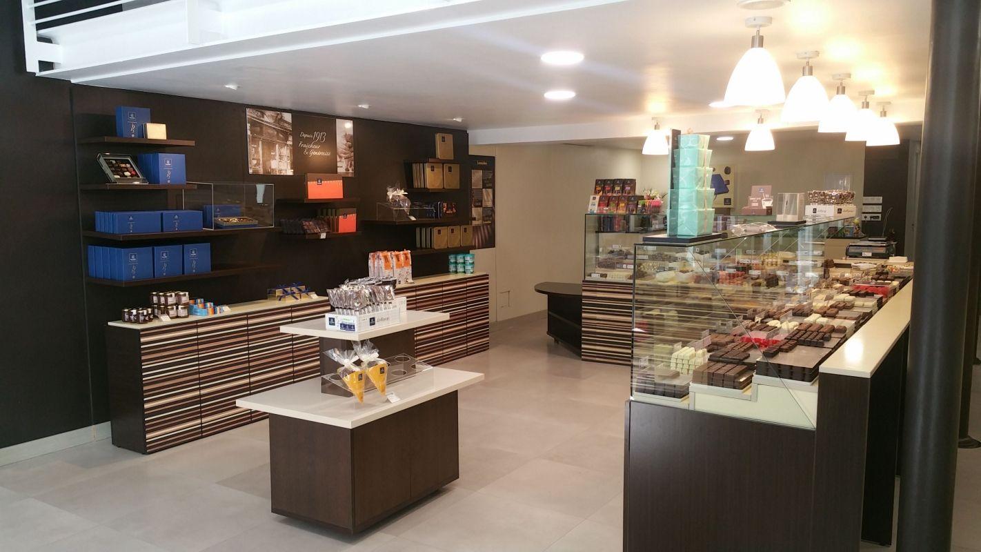 Tienda de chocolates y bombones en Gijón