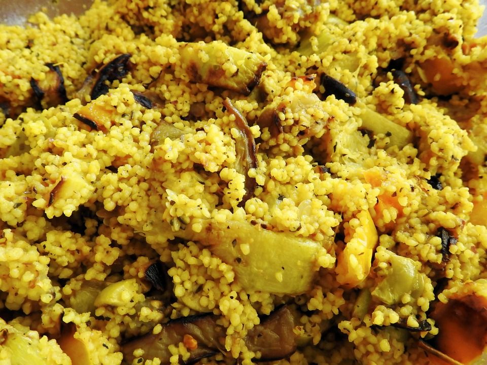 Comida Árabe: Menú de La Barbacoa sin Humo
