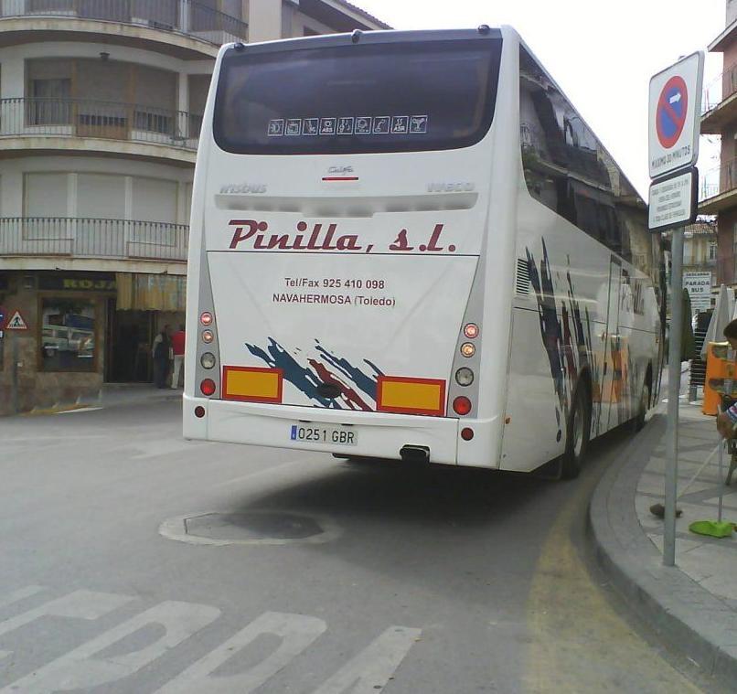 Foto 1 de Autocares en Navahermosa | Autocares Pinilla, S.L.
