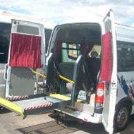 Transporte adaptado: Servicios de Autocares Pinilla, S.L.