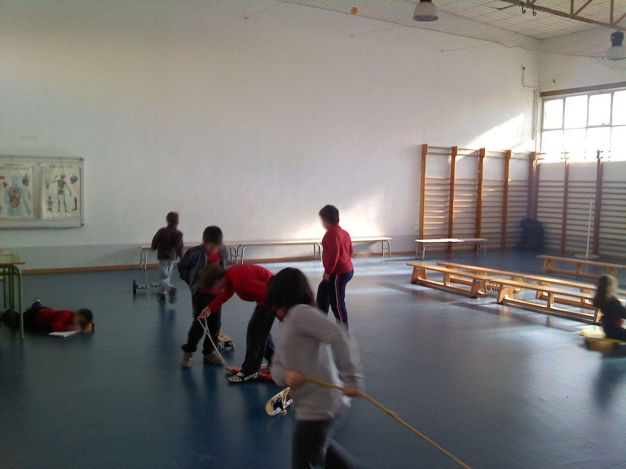 Reposición del pavimento en colegio