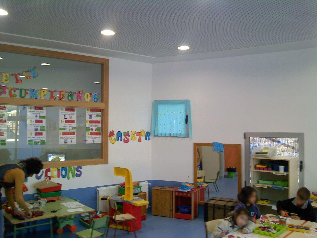 Reforma integral en aula infantil en Valencia