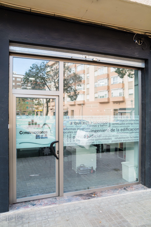 Reformas de locales comerciales en Valencia