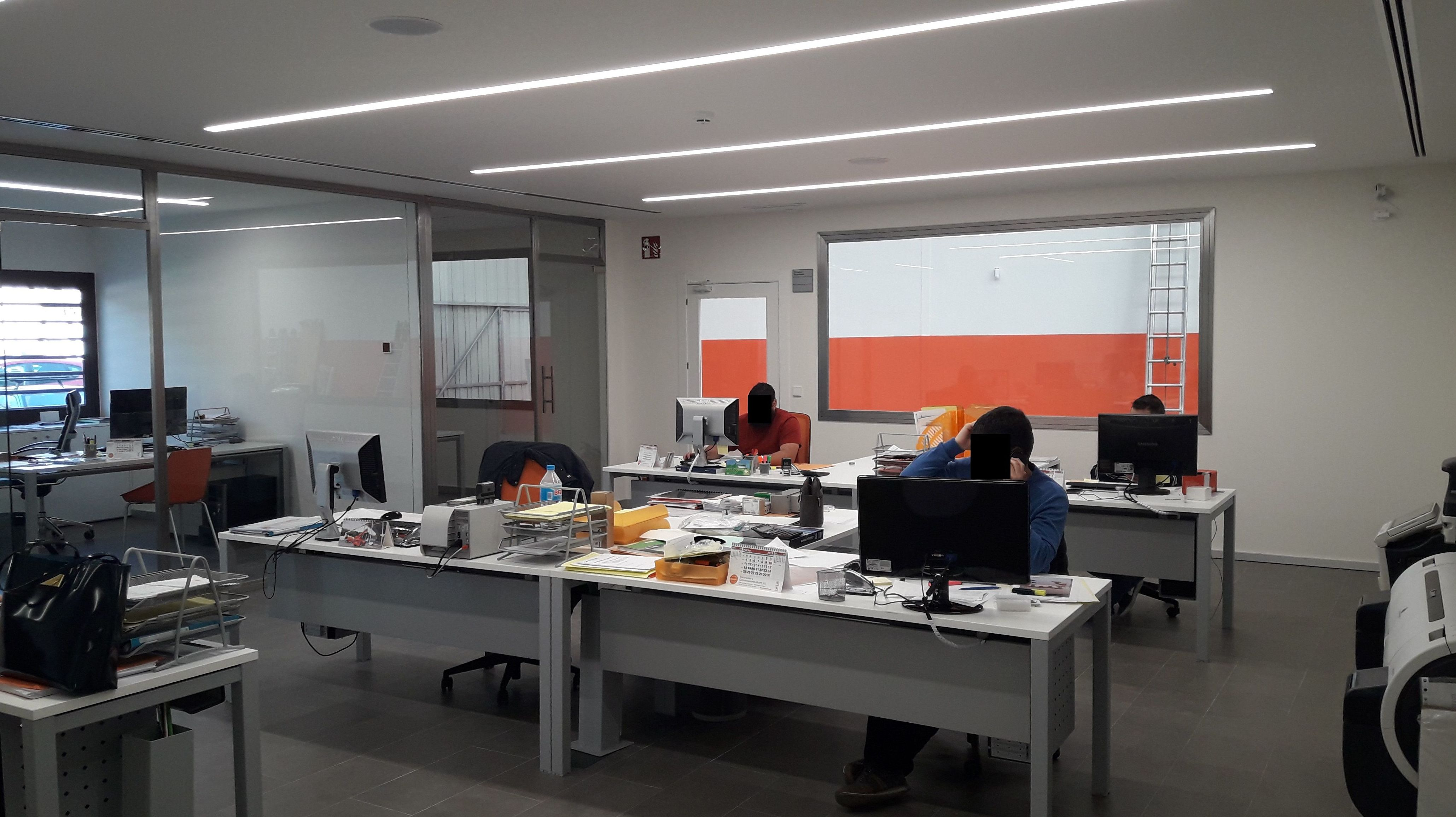 Reforma integral oficinas Aldaia