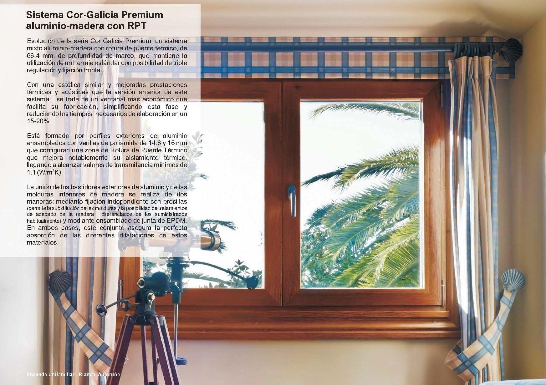 Cor Galicia Premium Alum-madera RPT: Catálogo de Jgmaluminio