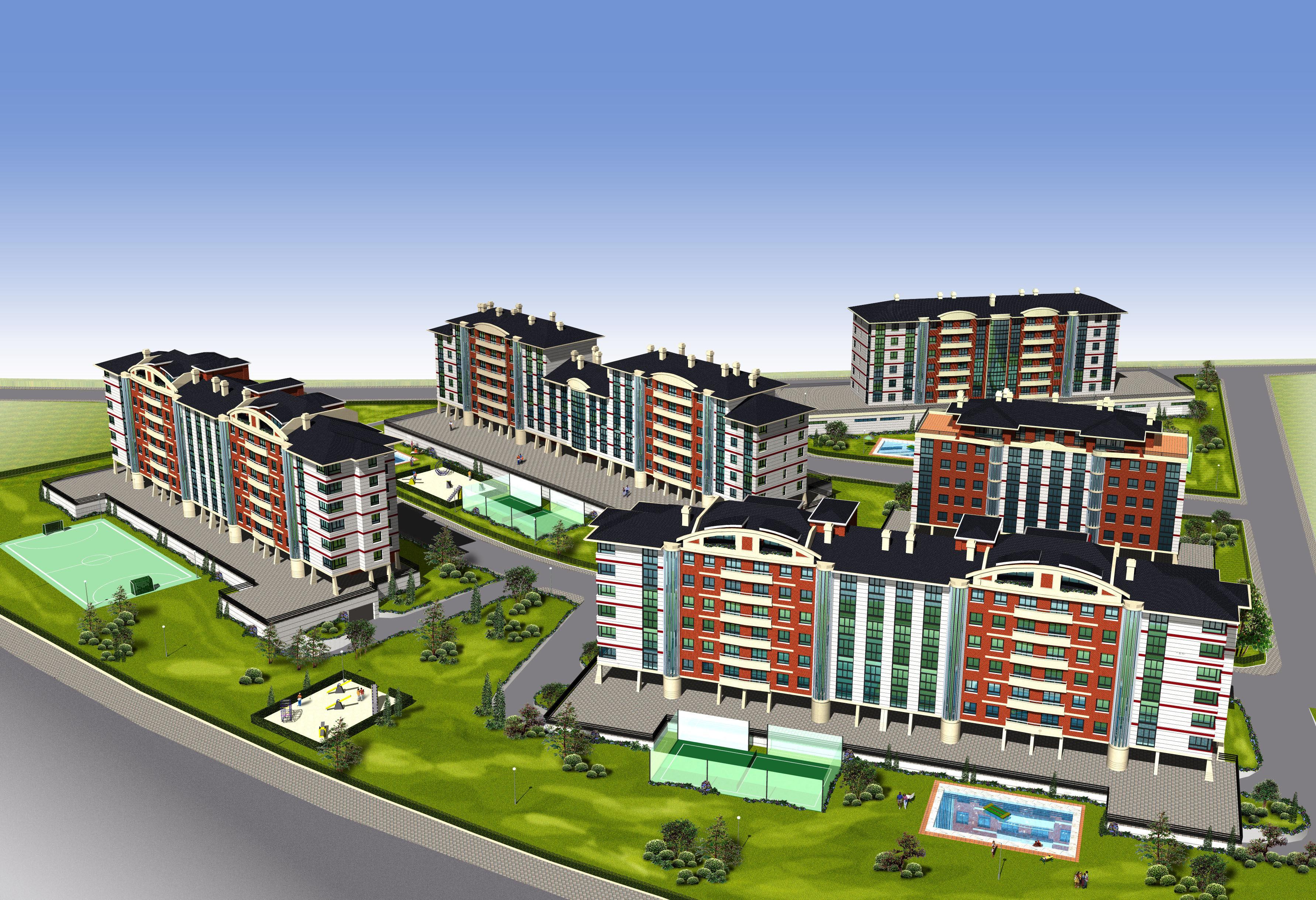 urbanización de viviendas colectivas en Santander