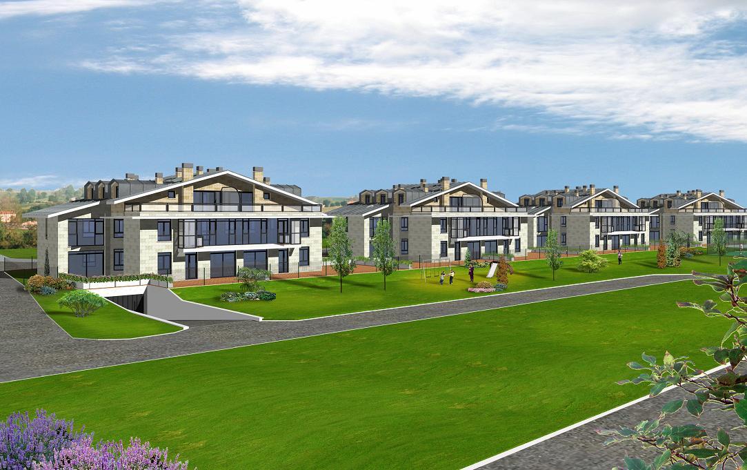 Edificio de viviendas en Galizano. Cantabria