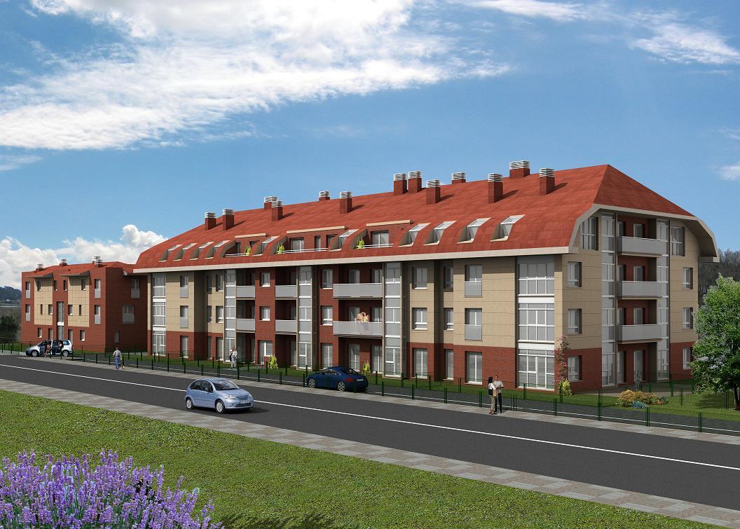 edificio de viviendas en Gama. Cantabria