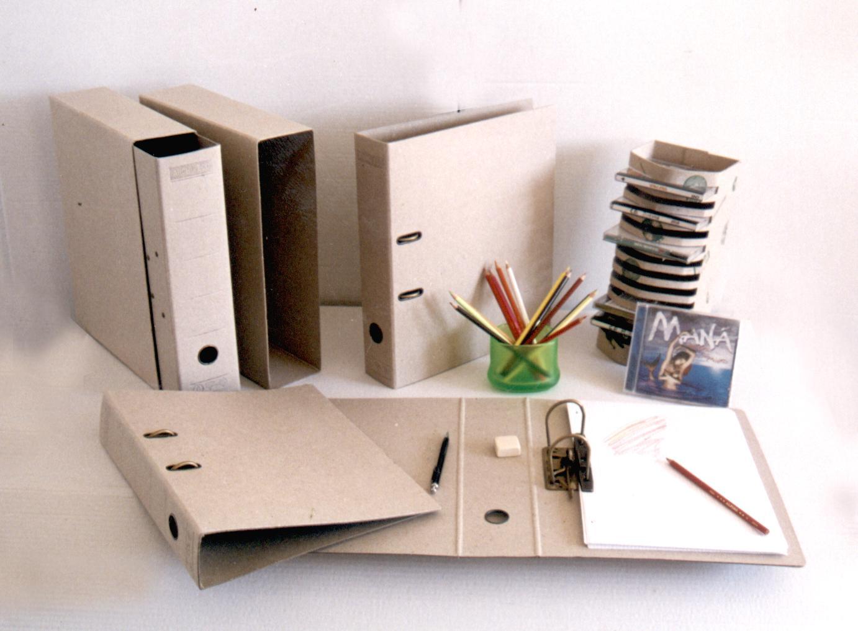Archivadores reciclados