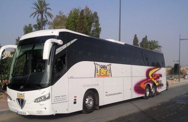 Viajes baratos Murcia, Agencia viajes Murcia, Alquiler de autocares Murcia, Autocares baratos Murcia