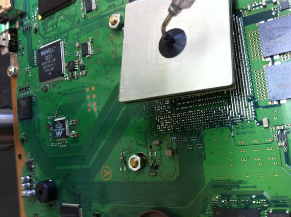 Reballing PS3