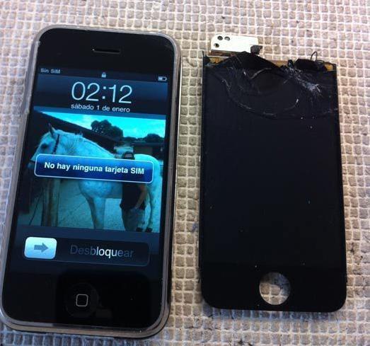 Cambio pantalla tactil o lcd iphone,smartphones etc