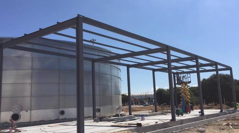 Estructuras met licas productos y servicios de ferro - Estructuras metalicas murcia ...