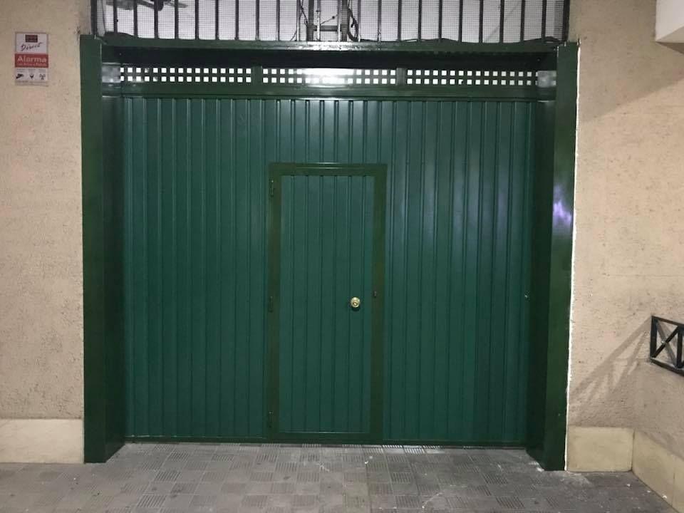 Fabricación de puertas metálicas en Jaén