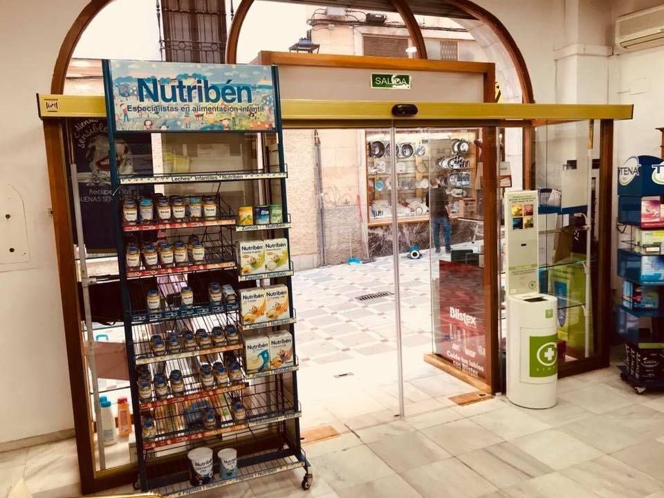 Puertas automáticas de cristal en Jaén