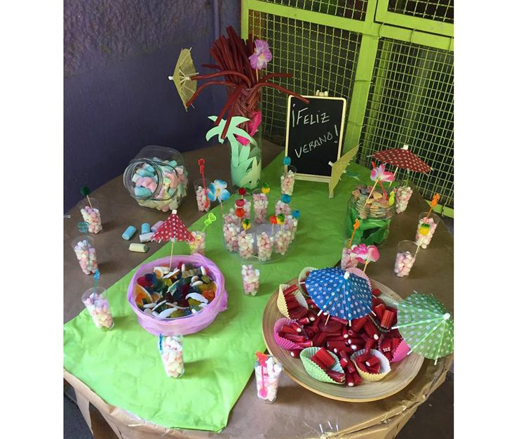 Candy bar, cuidados por horas