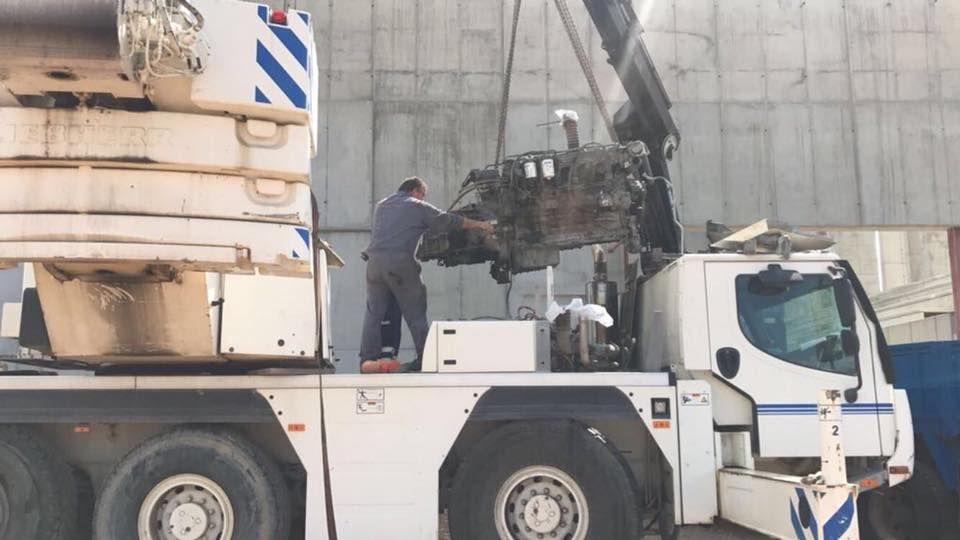 Taller de camiones en Miranda de Ebro