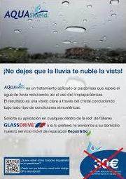 Repelente de lluvia: Productos y Servicios de Glassdrive Getafe
