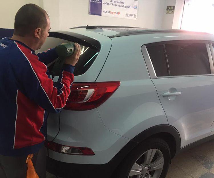Reparación de lunas de coche en Getafe