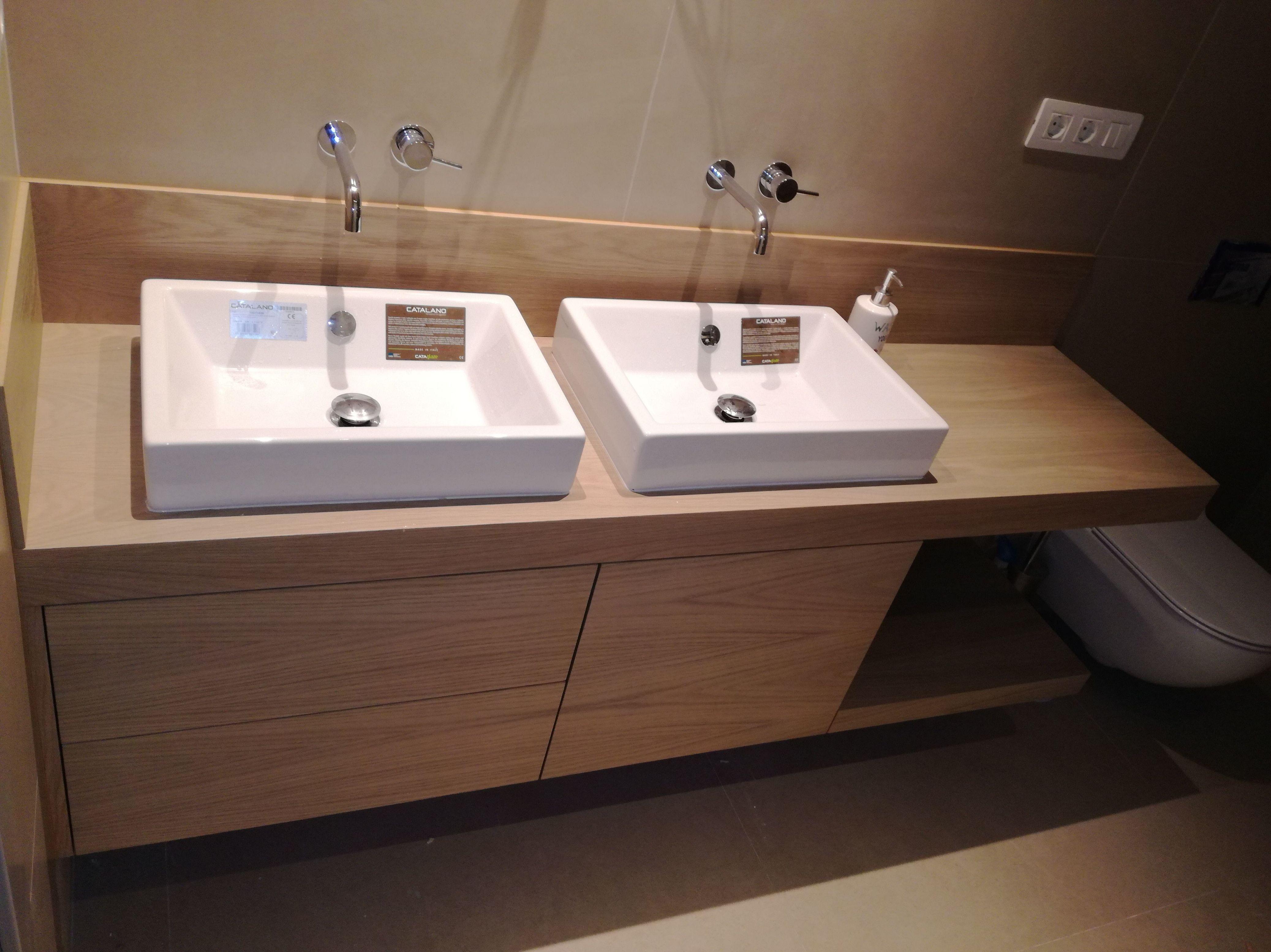 Diseño de muebles para lavabo