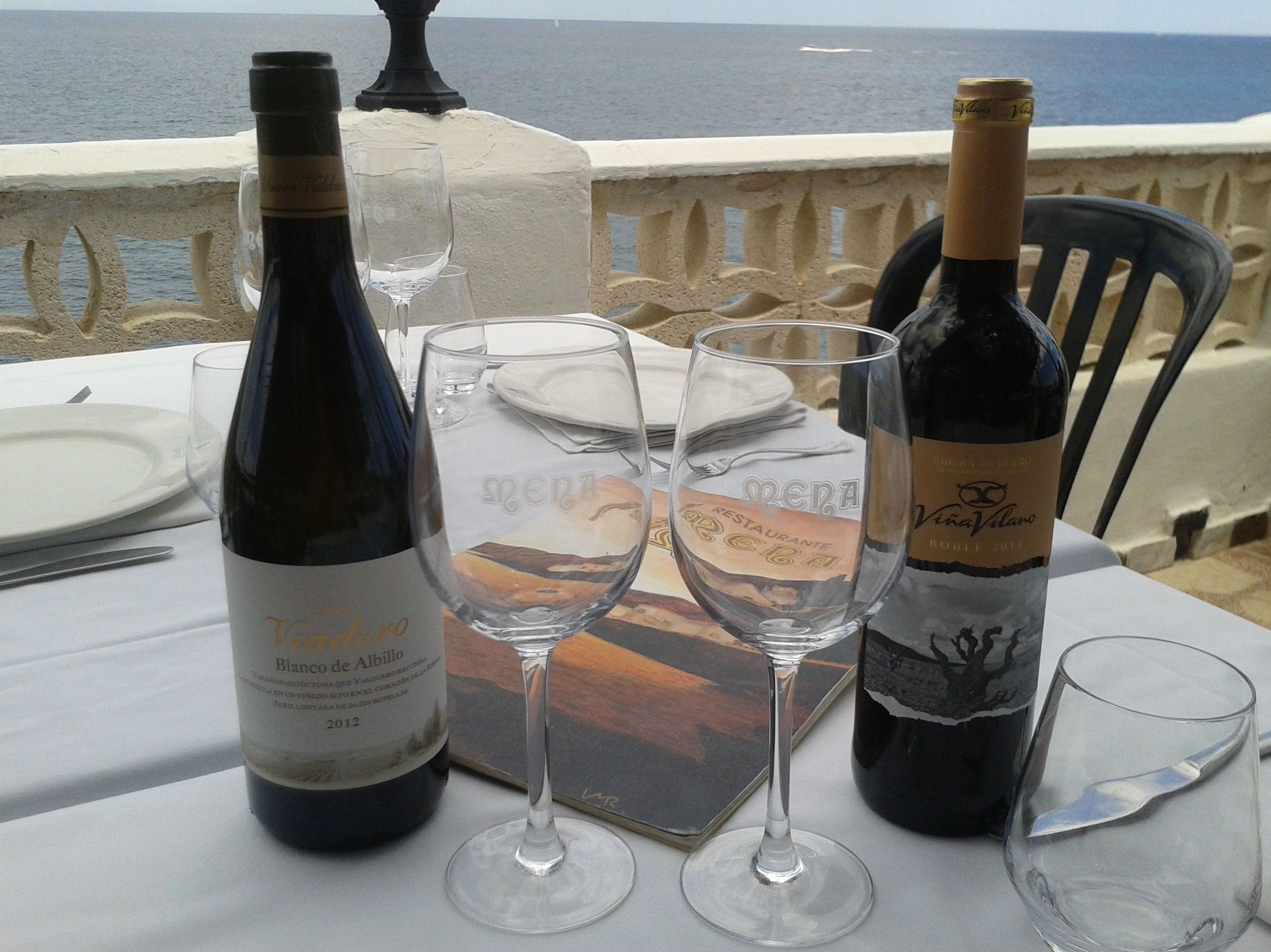Selecta carta de vinos